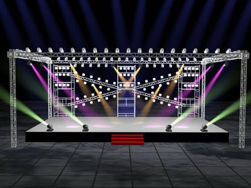 活动策划中舞台桁架和铝合金桁架常用的