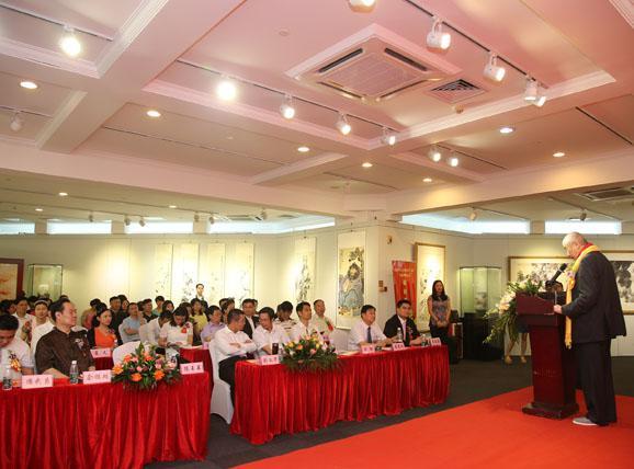 庆祝建国65周年文化活动新闻发布会