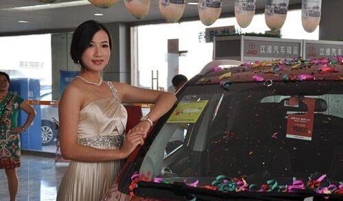 发布会活动策划美女车模