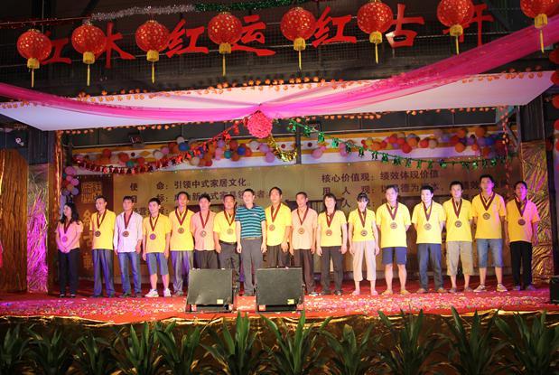 广东著名家具红古轩十七周年庆典策划