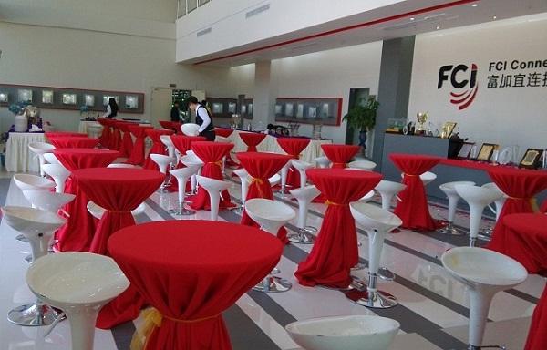 庆典策划自助餐区