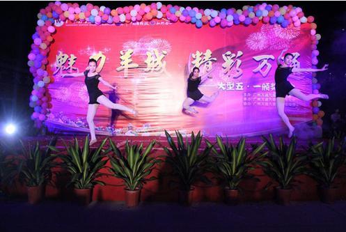 广州万通五一大型文艺晚会活动圆满举行