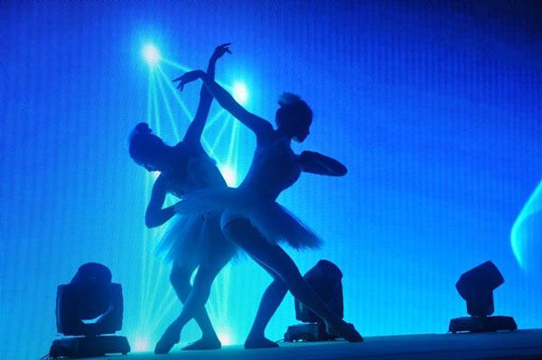 创意活动视频互动开场舞蹈表演之星空畅