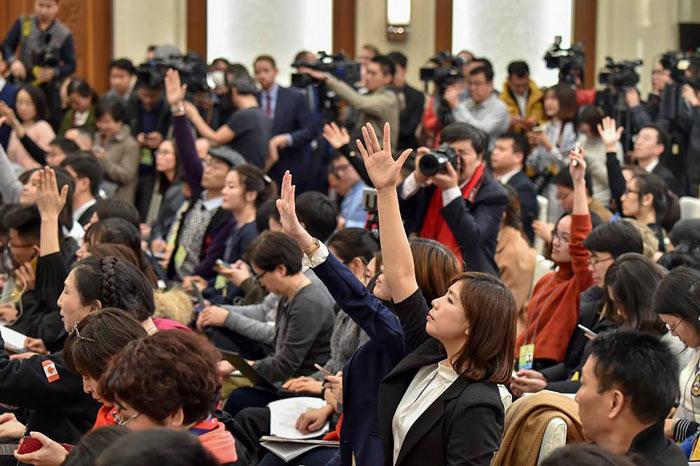 新闻发布会活动中记者采访提问的几个技
