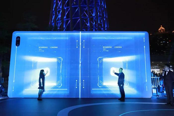 屏幕触摸互动启动仪式 3D创意启动视频制
