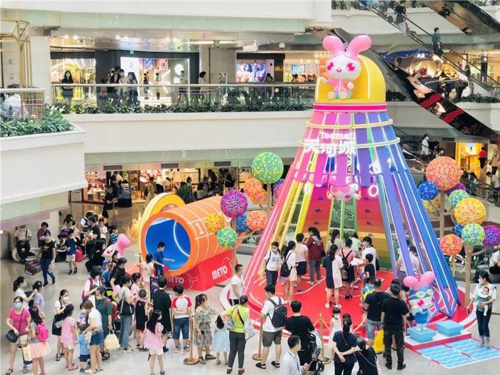 广州天河城第四届METO形象展以全新的形象