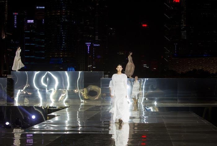 广州本土原创品牌新品发布会亮相广州塔