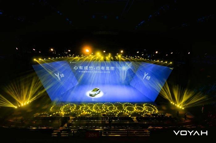 岚图FREE发布会开启裸眼3D秀视觉盛宴