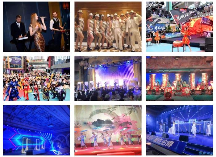 广州商业演出公司-提供歌手、舞蹈、乐队